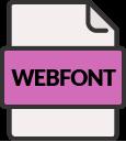 svg webfont
